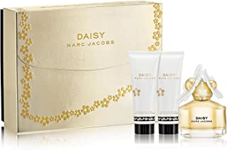 Daisy by Marc Jacobs Eau de Toilette Spray 50ml, Luminous Body Lotion 75ml & Bubbly Shower Gel 75ml