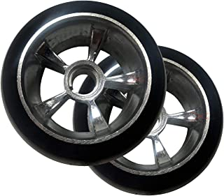 Scooter X Razor Ground Force Go Kart Replacement Rear Tire Wheels - Complete Pair/Set of 2-4.5
