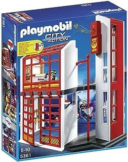 Playmobil 5361 - stacja straży pożarnej z alarmem