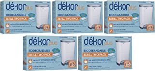 Diaper Dekor Plus Biodegradable Refill - 2 ct - 5 Pk