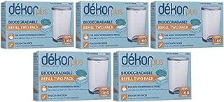 Diaper Dekor Plus Biodegradable Refill - 2 ct - 5 Pk