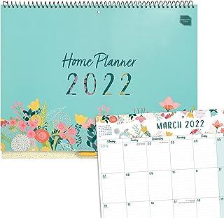 (w języku angielskim) Boxclever Press 'Home Planner' kalendarz 2021 2022. Duży 16-miesięczny planer rodzinny 2021 2022 od ...