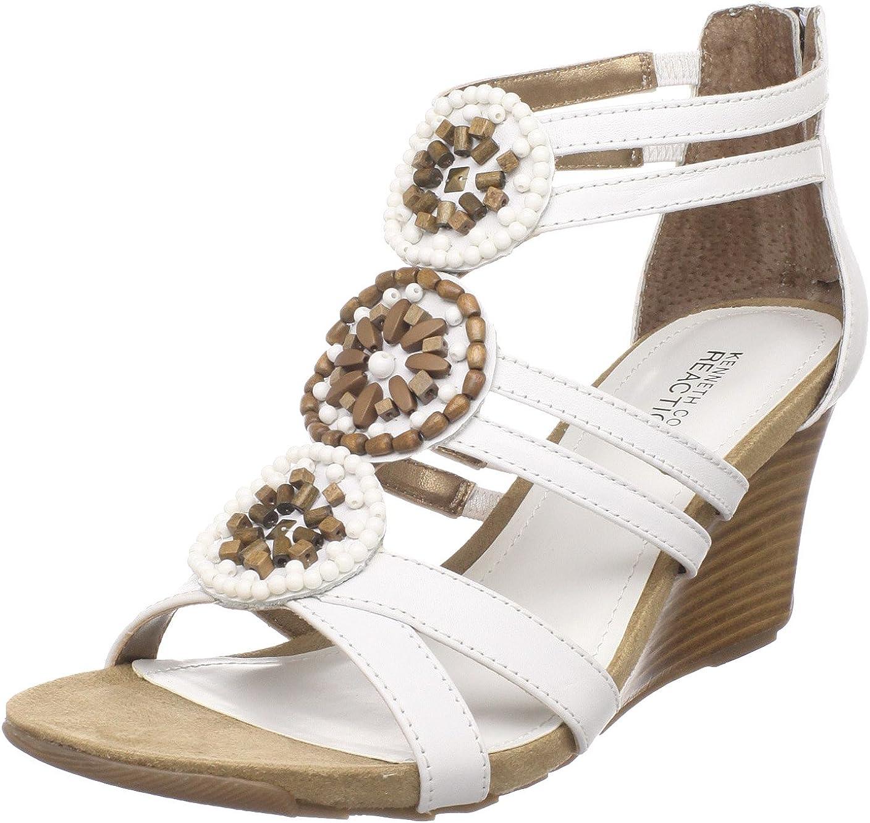 Kenneth Cole Max 49% Seattle Mall OFF REACTION Women's Sandal Wedge Pie Cedar