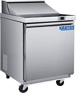 Kratos Refrigeration 69K-715 Two Door Undercounter Freezer 48 W