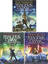 The Magnus Chase and the Gods of Asgard Series Books 1 - 3 Collection Box Set by Rick Riordan (Sword of Summer, Hammer of ...