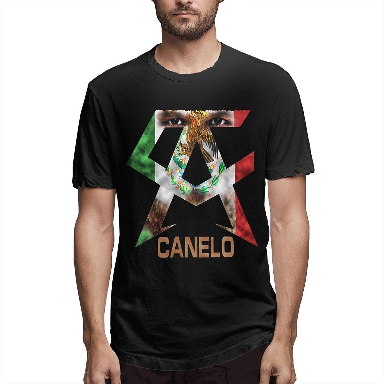 Vilisabull Men's Price reduction Shirts Can-elo-Alvarez Short Sleeve Tops Fi Tee Complete Free Shipping