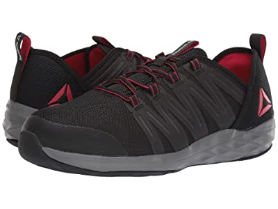Reebok Work Astroride Work (Black/Red/Dark Grey) Men