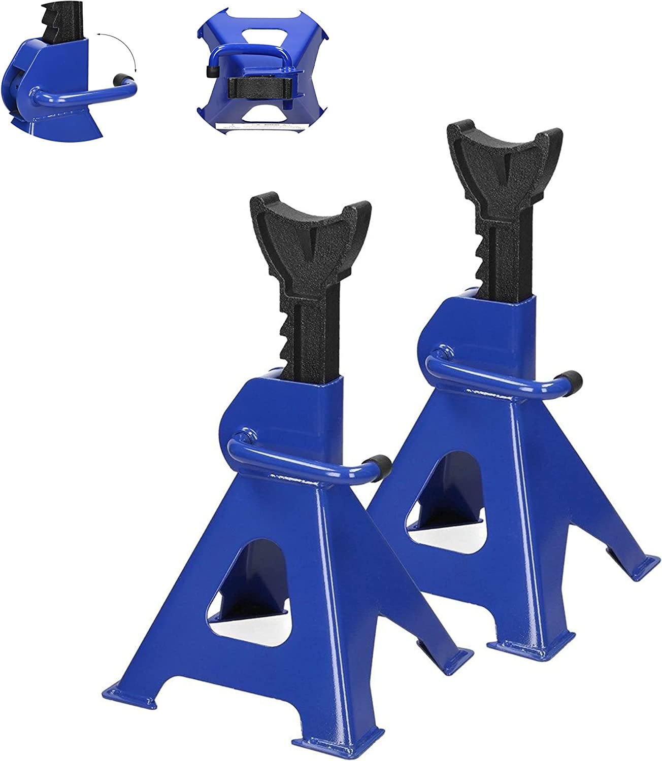 3 New arrival Ton Jack Stands Elegant Pair; Heavy Duty M 5 Lightweight Only Pounds