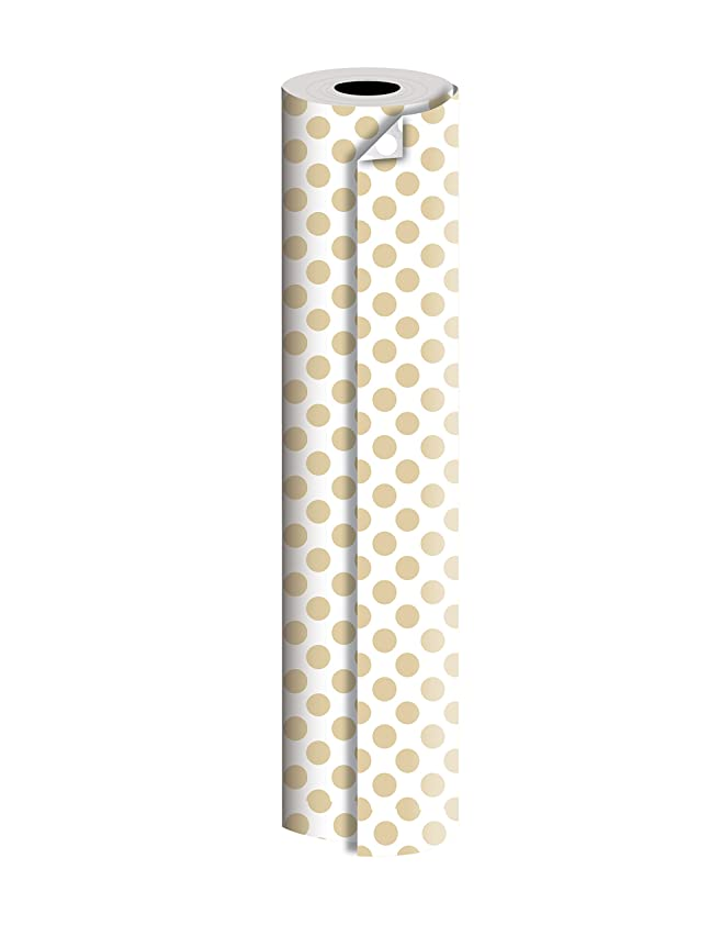 Jillson Roberts Bulk 1/4 Ream Double-Sided Reversible Gift Wrap Available in 12 Different Color Combinations, 24
