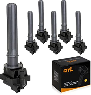 6Pcs Ignition Coil Pack Replacement for Chrysler 300M Concorde Intrepid LHS Pacifica Prowler Dodge Plymouth V6 3.2L 3.5L C1178 UF-269 UF-395 C533 5C1094 E252 IC261