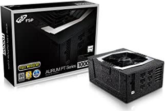 FSP PT Series 1000W ATX 12V v2.4 and EPS 12V v2.92 80 Plus Platinum Certified Full Modular Active PFC Power Supply (PT-1000FM)