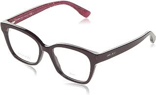 Rx Eyeglasses Frames JC 150 Q51 50-17-140 Red Glitter Made in Italy