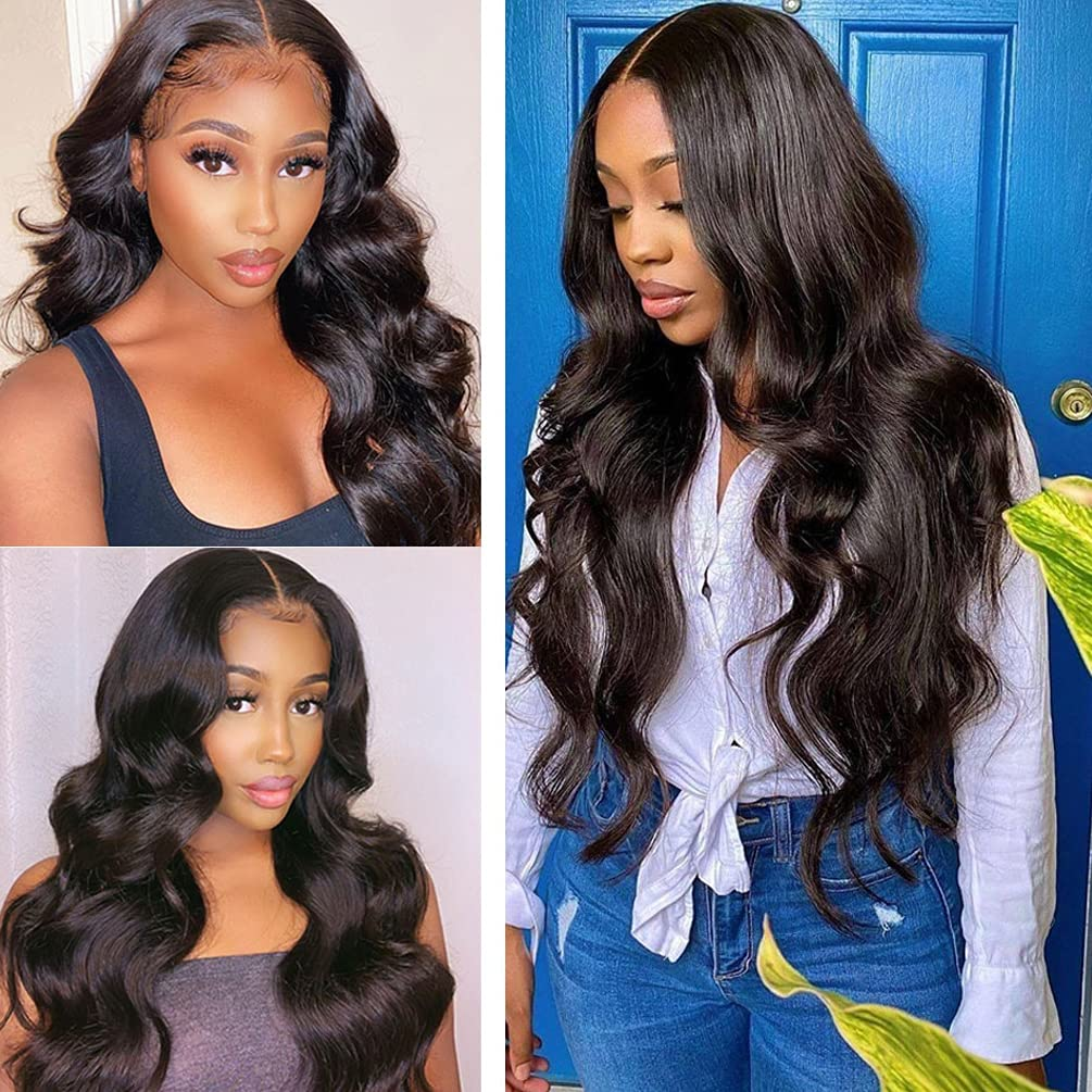 26 Inch 13x6 Deep San Jose Mall Part Lace Front Human Brazilian Wigs Hair Online limited product HD T