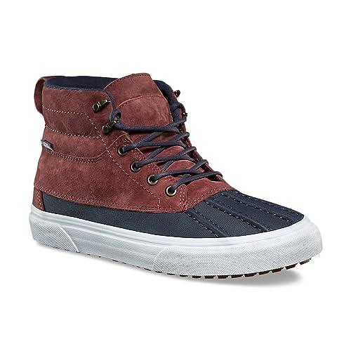 54abc65d63 Vans Men s Sk8 Hi Del Pato Skateboarding Shoes