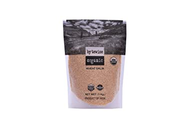 Bytewise Organic Wheat Dalia / Broken Wheat, 1Kg