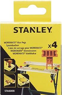 Stanley STA40400-XJ spanelement (voor bevestiging aan de werkbank, compatibel met Black+Decker Workmate WM100, WM825, WM55...