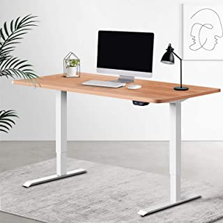 Artiss Standing Desk Motorised Sit Stand Table Riser Height Adjustable Electric Computer Table Laptop Desks