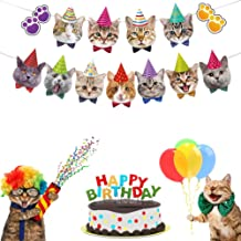 Cupcake Toppers Balloons CrzPai Construction Birthday Party Supplies Dump Truck Theme Birthday Decorations Kit for Kids with Happy Birthday Banner Signs