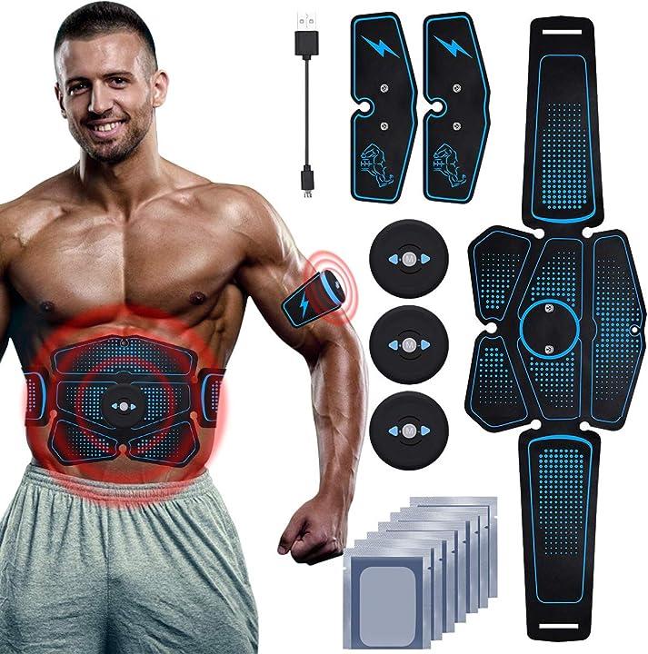 Elettrostimolatore per addominali professionale per braccio/gambe/glutei,rirgi koiteck B07QLWJTL8