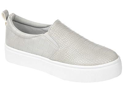 Journee Collection Comfort Foamtm Patrice Platform Sneaker (Grey) Women