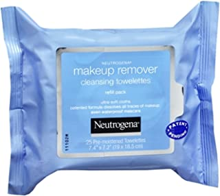 2 Pack - Neutrogena Make-Up Remover Cleansing Towelettes Refills 25 Each