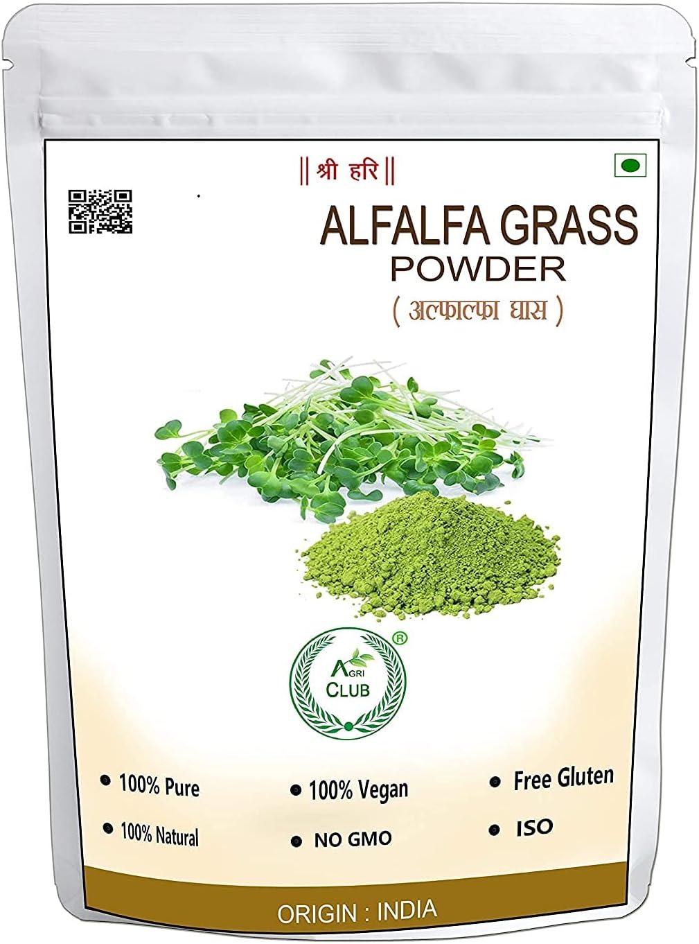 Saheb Agri Club Alfalfa 100 Grass Powder Max Surprise price 79% OFF Gm