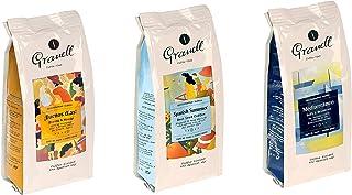 Granell - Mediterranean Blends - Regalos para Cafeteros | Cafe en Grano 100% Café Arabica - Pack de 3: Café Buenos Días, C...