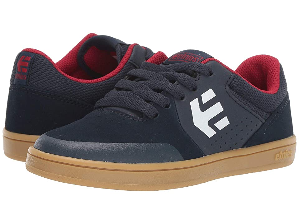 etnies Kids Marana (Toddler/Little Kid/Big Kid) (Navy/Gum/White) Boys Shoes