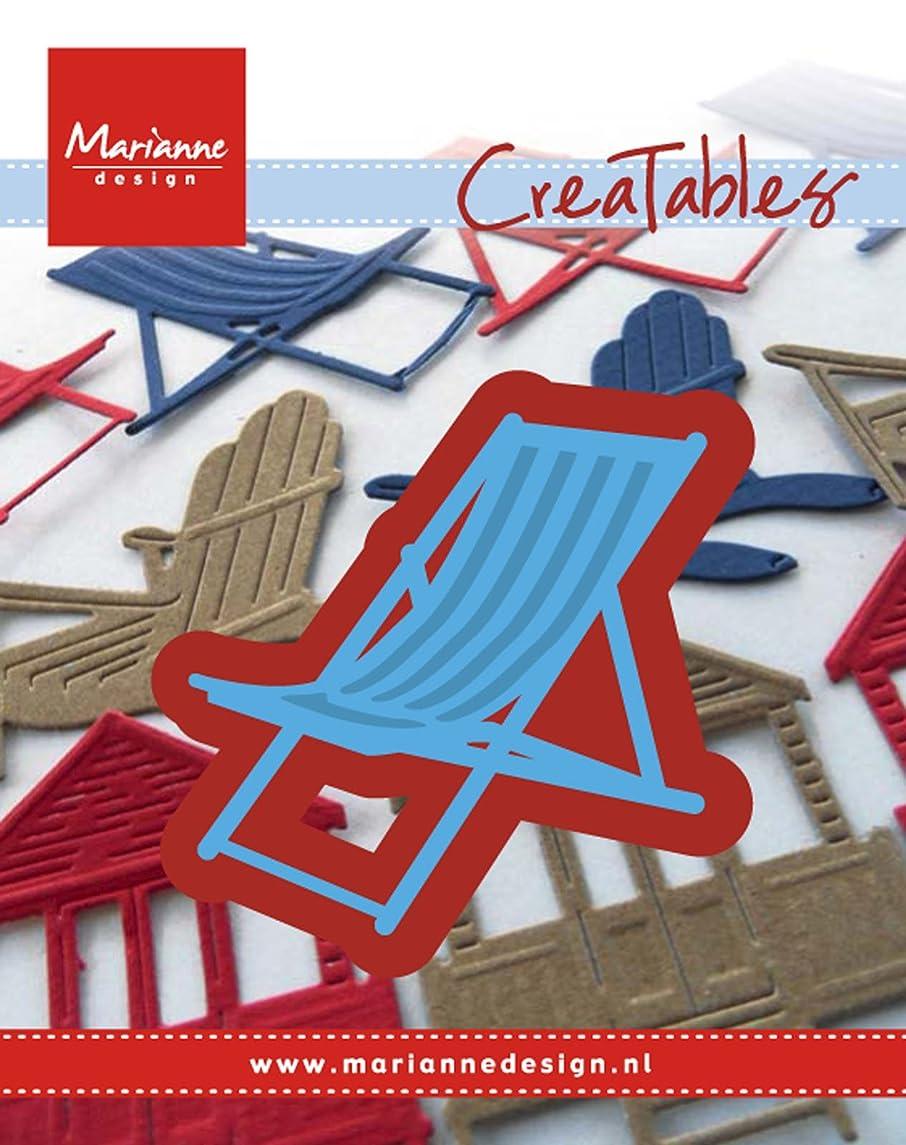 Marianne Design Creatable Deck Chair Die, Metal, Blue