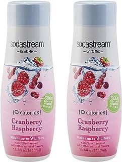 SodaStream Cranberry Raspberry Zero Calorie, 440ml , 14.8 Fl Oz (Pack of 1)
