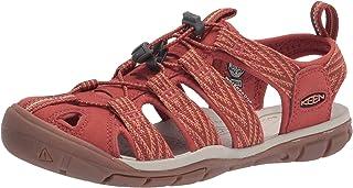 KEEN Women's Clearwater CNX Sport Sandal, Brick Dust/Pheasant, 6.5