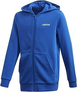 adidas Boys' YB E LIN FZ HD Sweatshirt