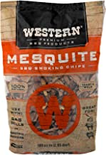 Western Premium BBQ Products Mesquite BBQ Smoking Chips, 180 cu in