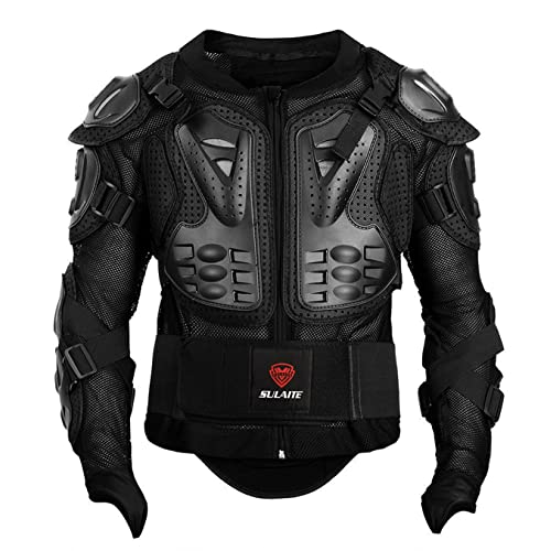 Parts & Accessories NEW Body Armour Motorcycle Motocross Dirt Bike MX Pressure Suit with Knees Guard