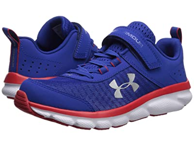 Under Armour Kids UA Assert 8 AC (Little Kid) (Royal/Red/White) Boys Shoes