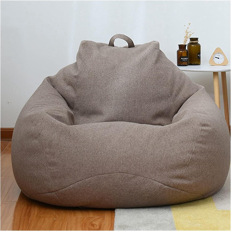 ppqq Comfortable Bean Max 41% OFF Bag Chair Soft Lazy Cover Clot Linen Sofas cheap