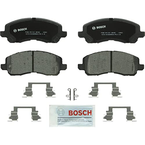 Caliber Outlander Bosch BP866 QuietCast Premium Semi-Metallic Disc Brake Pad Set For: Chrysler 200 Lancer Front Galant Patriot; Mitsubishi Eclipse Sebring; Dodge Avenger Stratus; Jeep Compass