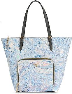 Baggit Spring-Summer 2020 Faux Leather Women's Tote Handbag (White) (L Bookinstore)