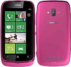 Nokia Lumia 610 8GB (GSM only, No CDMA) Factory Unlocked 3.5G Cell Phone (Magenta) - International Version