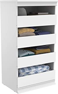 ClosetMaid 4561 Modular Closet Storage Stackable Unit with 4-Drawers, White