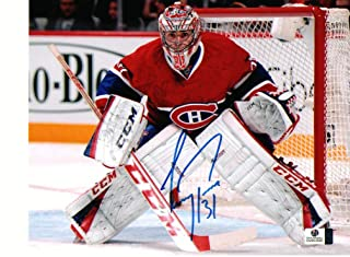 Carey Price Montreal Canadiens signed Autographed 8x10 Red Jersey Photo