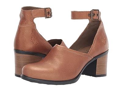 FLY LONDON INAT422FLY (Tan Janeda Leather) Women