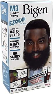 Bigen EZ Color Hair Color for Men - Darkest Brown Kit