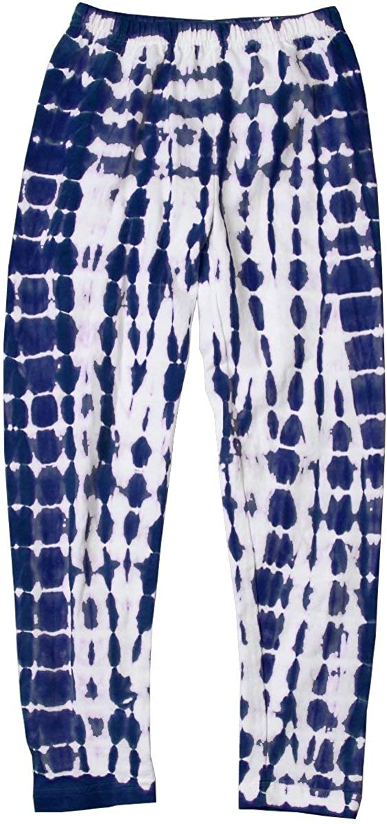 Wes and Willy Girl's Tie Dye Leggings- Midnight