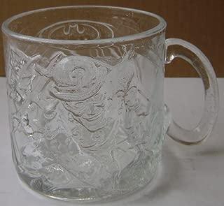 Collectible Batman Forever Glass Cup Mug - Riddler