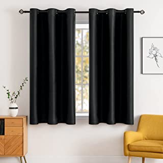 MIULEE Blackout Curtains Room Darkening Thermal Insulated Drapes Solid Window Treatment Set Grommet Top Light Blocking Cur...