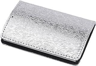 Grand porte-cartes d'affaires cadeau - Argent