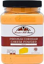 Hoosier Hill Farm Premium Cheddar Cheese Powder, No Artificial Colors, Gluten Free, Made in the USA (1 lb)