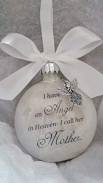 纪念圣诞节装饰品同情礼物天堂里的天使我叫她妈妈