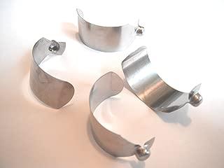 Rainbow Genuine Metal Wand Button Locks (4)